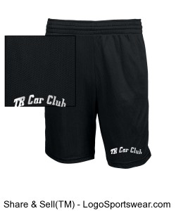 TR Car Club Shorts Design Zoom