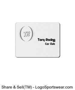 TR Car Club MousePad Design Zoom
